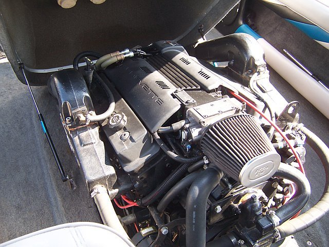 Any L98 or LT1 engines installed in a boat? - Speedwake 2 0